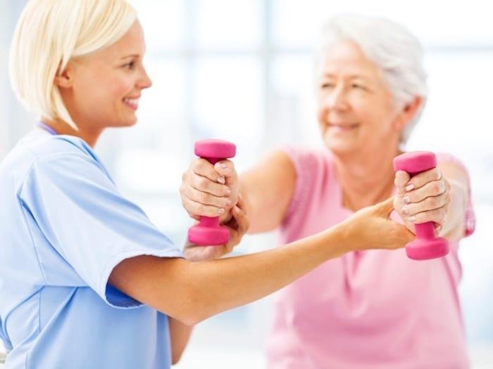 Načrt vadbe za osteoporozo, ali krhkih kosti