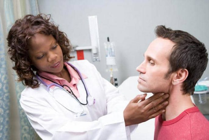 Sinais de câncer de garganta