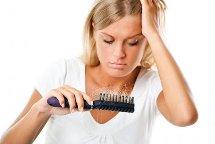 PCOS perda de cabelo
