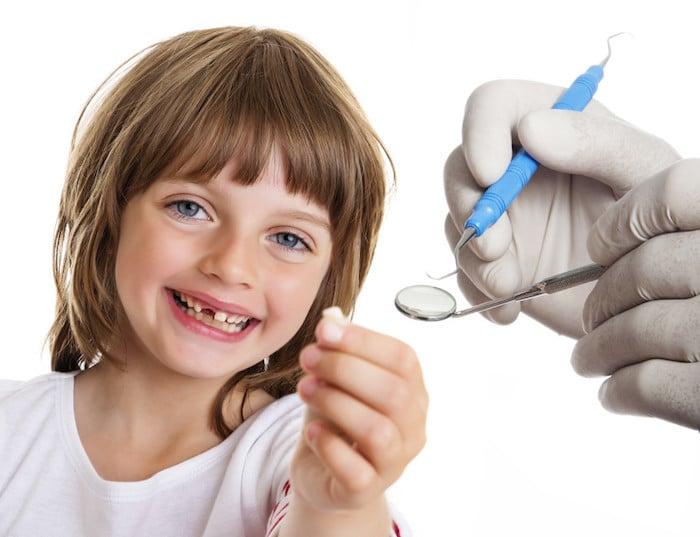 Seu filho só machucar os dentes