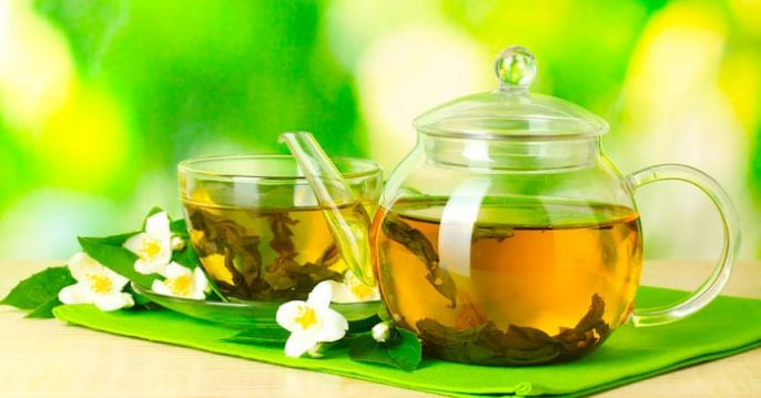 Efectos secundarios de beber té verde