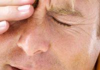 Dores de cabeça agudas associadas a dor ocular