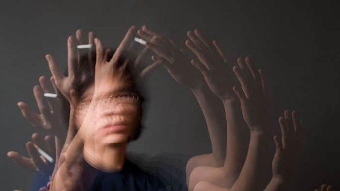 Efeitos colaterais do abuso de drogas: alucinações