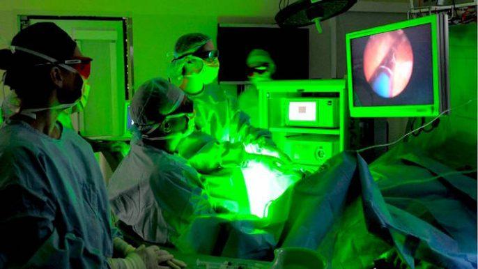 Elargissement de la prostate: chirurgie de la prostate au laser
