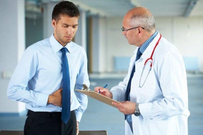 Causas normales de la úlcera duodenal y el dolor abdominal en la noche