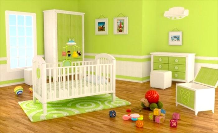Comment économiser de l'argent dans la chambre de votre bébé