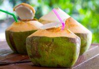 获得椰子水的好处取决于获得正确的标记