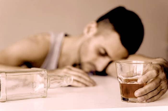 Douleurs lombaires induite par l'alcool