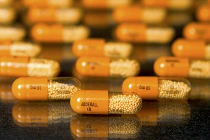Los efectos secundarios de Adderall