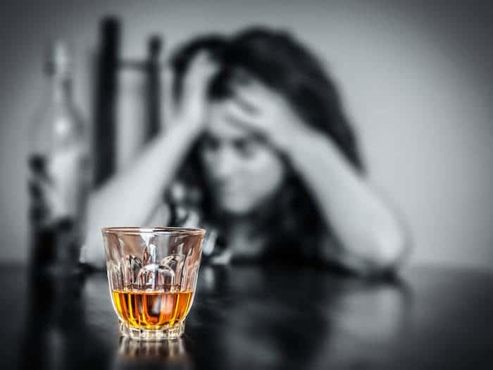 La ansiedad después de beber alcohol