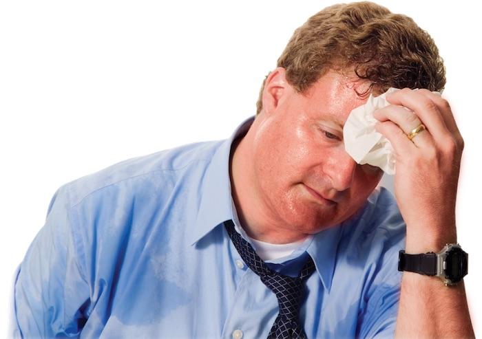多汗症: 大量出汗