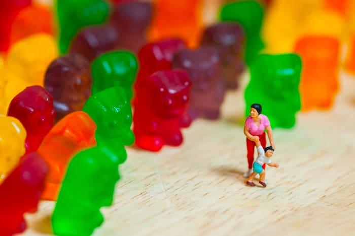 如何不要提出一个怪物的糖
