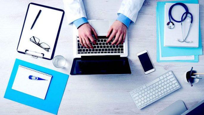 A programação diária de um profissional de saúde ocupacional