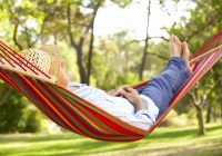 فوائد النوم في أرجوحة