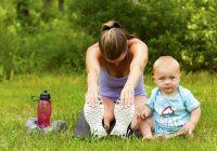 Gewicht nach der Geburt loswerden