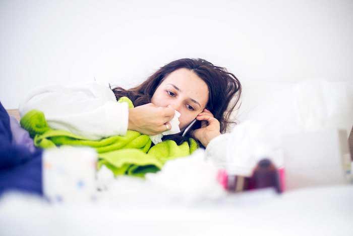 Temporada de gripe - acalmar a sua alma em sua casa