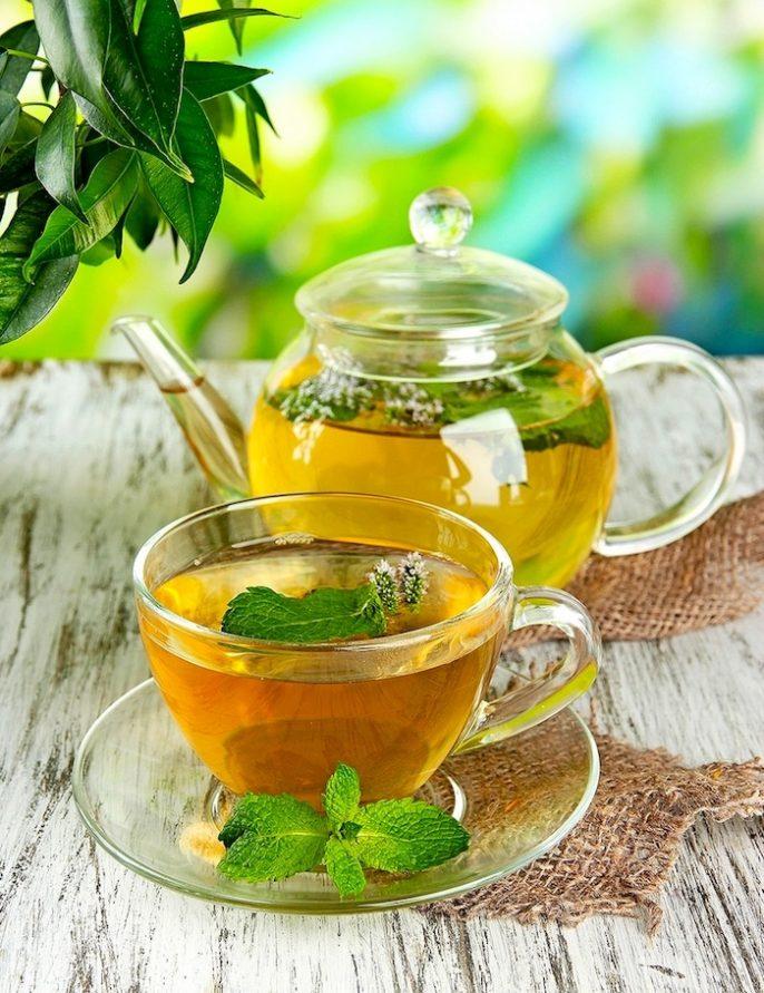Le thé vert pour brûler les graisses