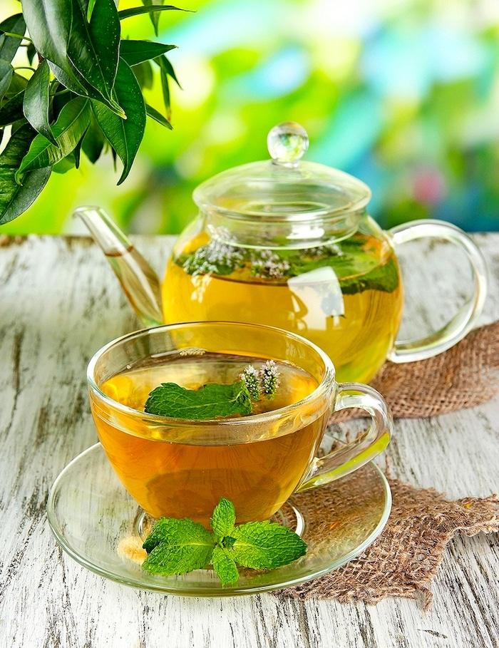 Du thé vert pour brûler les graisses