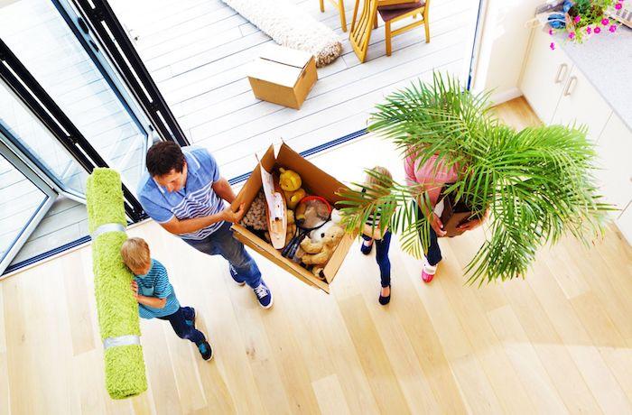 Mudança: ajudar seus filhos a se manterem saudáveis e seguros depois de mudar de casa