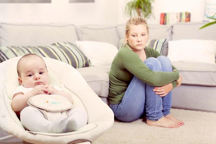 Ni bilo lahko povezano z vašega otroka lahko znak poporodna depresija: kaj se zgodi zdaj?