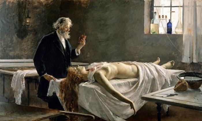 Čudno in nevarno zdravljenja zgodovinski