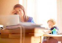 هل تعاني من تقلبات مزاجية ، علامة على اكتئاب ما بعد الولادة؟