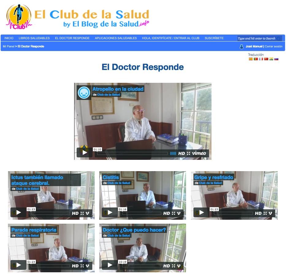 Vídeos O médico responde a perguntas médicas que você pode fazer