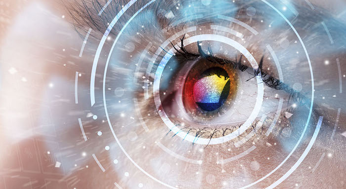 Carro alegórico e flashes oculares