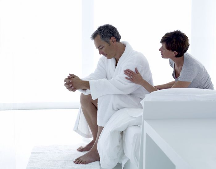 Umgang mit der sexuellen Dysfunktion Ihres Partners