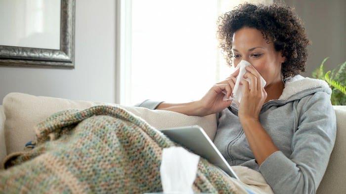 Différence et lien entre la grippe et le rhume?