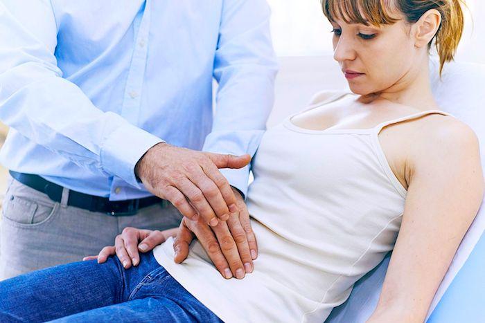 Ovarialzystenruptur