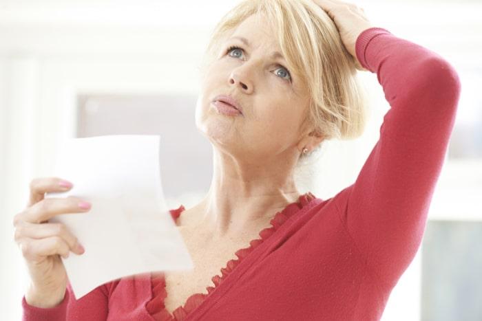 Klinične simptome in diagnozo menopavza