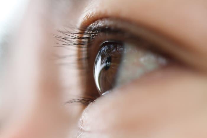 Manchas pretas na visão