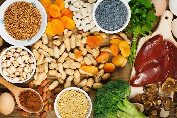 Suplementos naturales de hierro: traiga su nivel de hemoglobina y glóbulos rojos hasta niveles normales