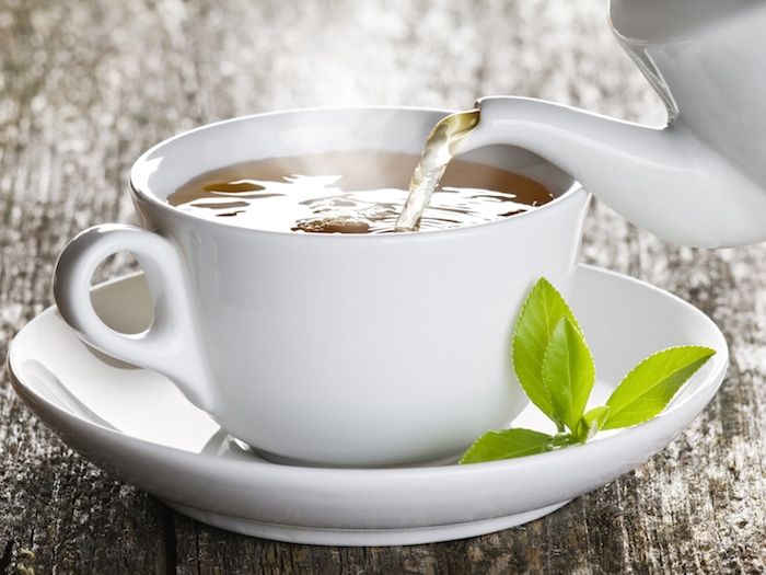 O chá verde para perda de peso