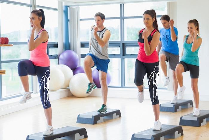 Etapa aeróbica: um esporte apenas para mulheres?
