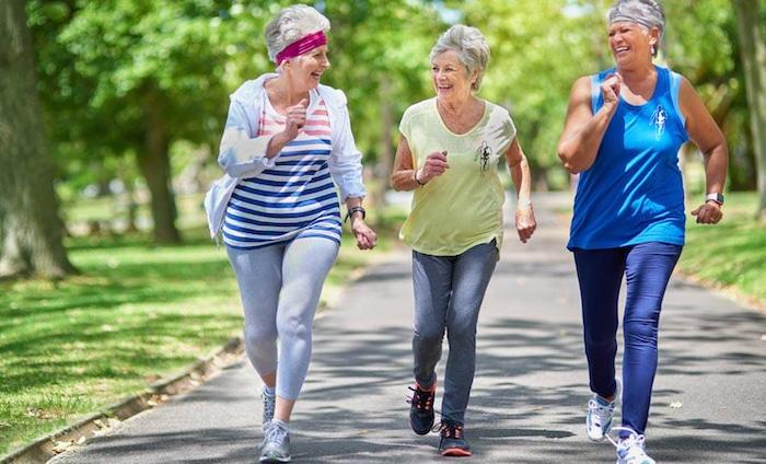 Ejercicio y actividad física para adultos mayores