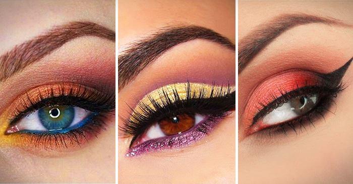 كيفية مطابقة ظلال العيون ولون العين