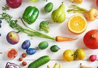 ربيع الغذاء: الفواكه والخضروات الطازجة