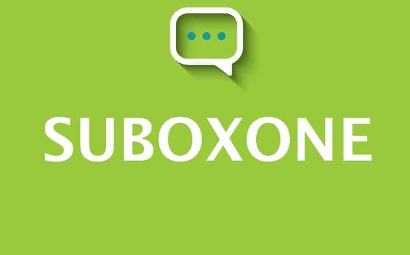 Suboxone: efectos e interacciones de la drogas