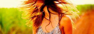 食品头发的健康光泽