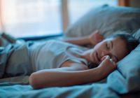 Dormir mejor, menos miedo