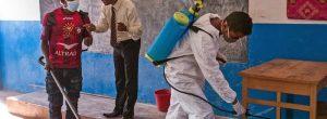 As escolas de Seychelles fecham os medos da praga