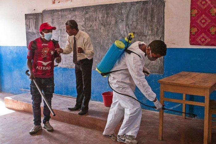 Las escuelas de Seychelles cierran los temores de la plaga