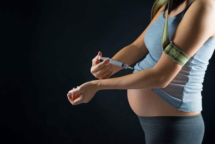 Uso de heroína durante el embarazo