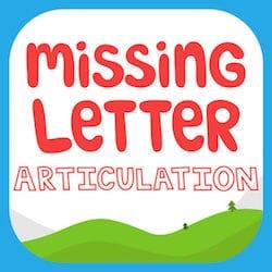 Missing Letter Articulation App