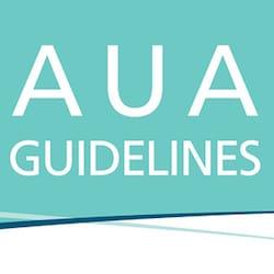 Aplicación AUA Guidelines at a Glance
