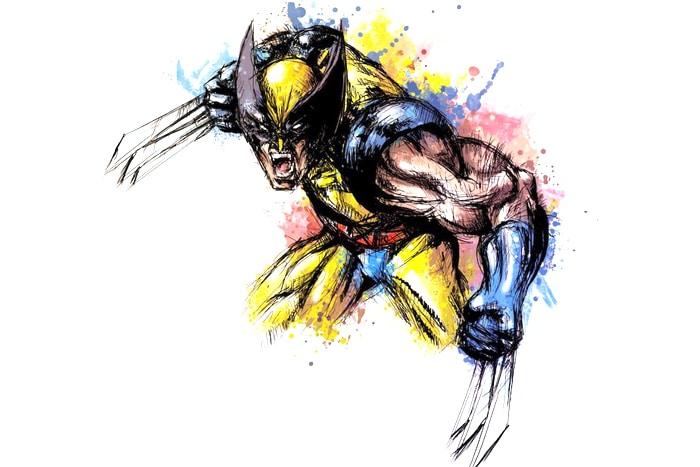 garra de Wolverine tatoo