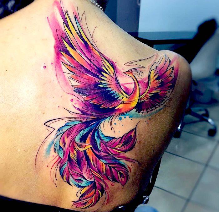 Fénix tatoo