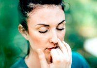 Chronische Verstopfung der Nasenlöcher